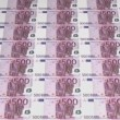 500 Euro Currency Banknotes — Stock Video