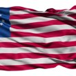 Stock Video: United States Betsy Ross Flag