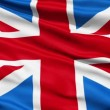 Stock Video: Flag United Kingdom Of Great Britain