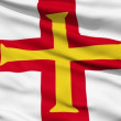 Stock Video: Flag Of Bailiwick Of Guernsey