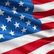 Stock Video: Waving Flag United States Of America