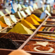 Royalty-Free Stock Photo: Closeup of spices on sale market