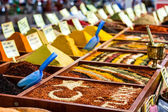 Closeup of spices on sale market — Stock Photo