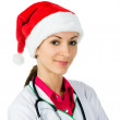 Santa doctor — Stock Photo #14527867