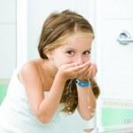 Girl in bathroom — Stock Photo #14528007