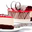 Stock Photo: Cheesecake