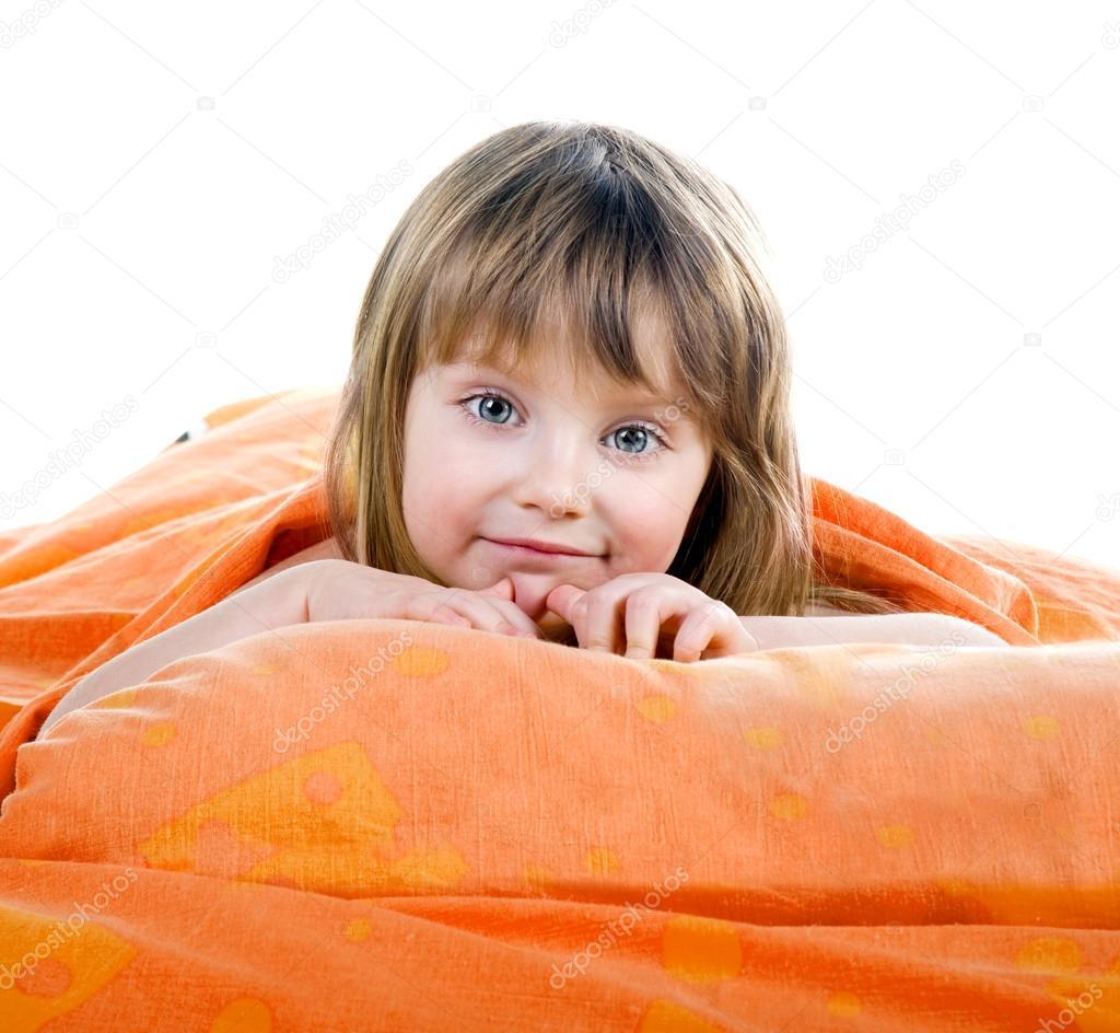 可爱的女孩 — 图库照片08tan4ikk#14571307