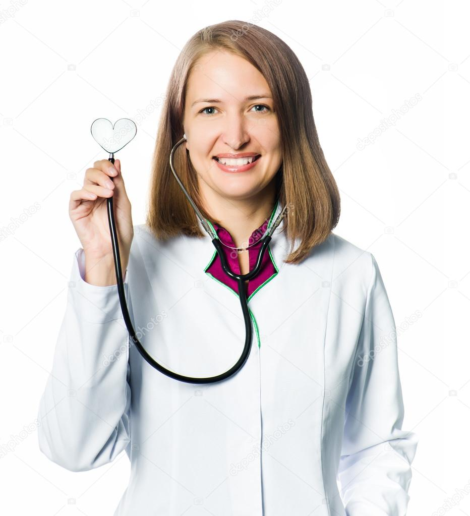 Friendly medical doctor with stethoscope  Stock Photo #14636069
