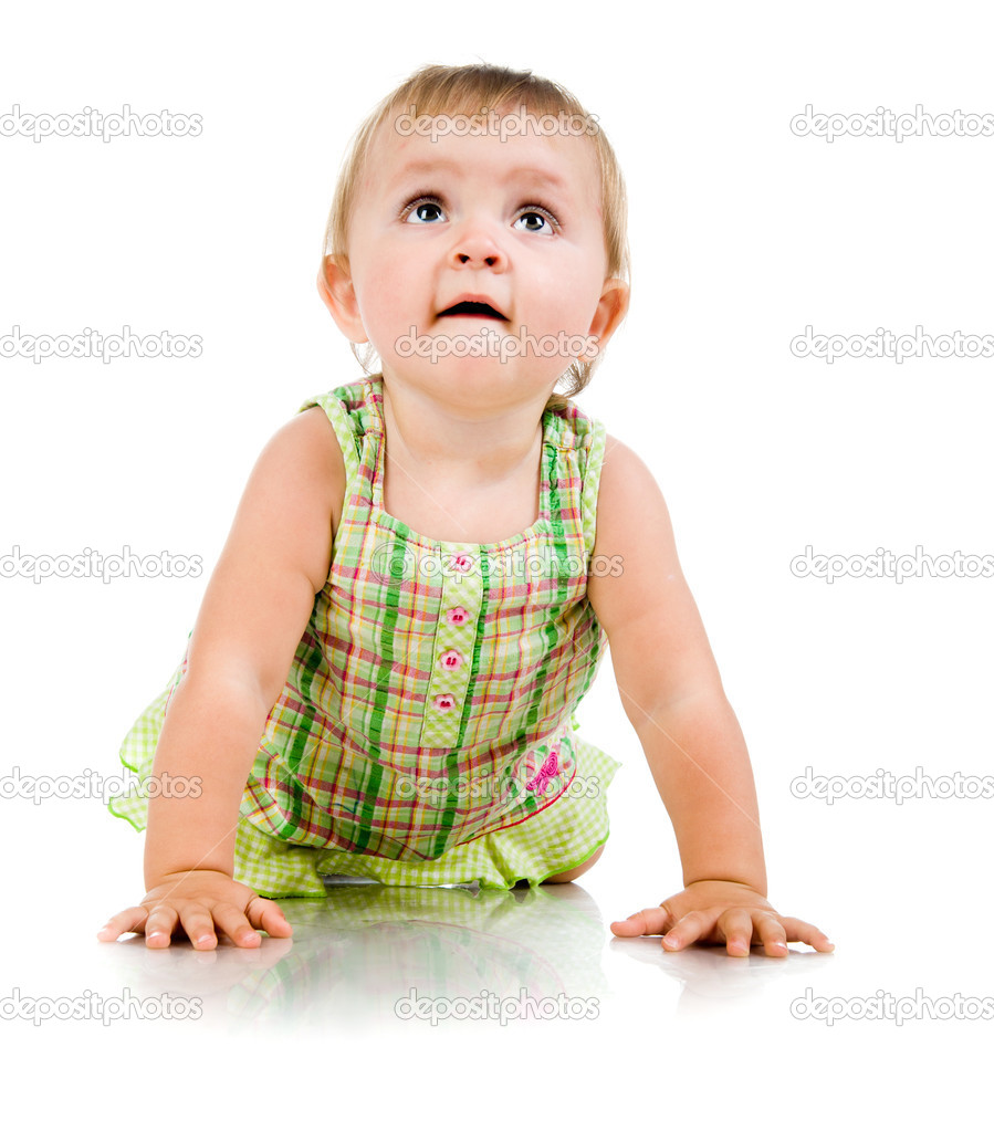 Cute little boy — Stock Photo #14636327