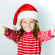 Santa girl — Stock Photo #14766647