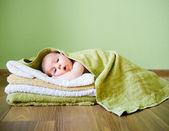 Schattige baby — Stockfoto