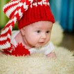 Newborn girl — Stock Photo