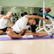 Woman at the fitness club — Stock Photo #18843041