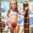 Little girl at aquapark — Stock Photo #18932609