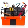 Toolbox with tools — Stock Photo