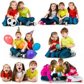 Mutlu çocuklar — Stok fotoğraf