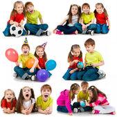 Szczęśliwe dzieci — Zdjęcie stockowe