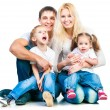 Happy family — Stock Photo #23525457