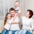 Family at home — Stock Photo #24593697