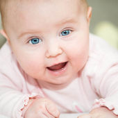 Baby close-up — Stock Photo