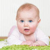 Baby at home — Stock Photo