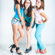 Three pretty girls — Foto de Stock