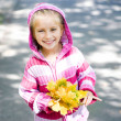 Stock Photo: Autumn portrait