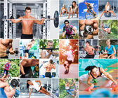 İnsanlar spor — Stok fotoğraf