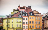 Warsaw old town — Stock Photo