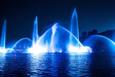Musical fountain — Stock Photo