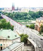 Slasko-Dabrowski bridge — Stock Photo