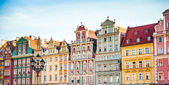 Wroclaw City center, — Stock Photo