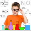 Little boy with glasses — Stock Photo #33666395