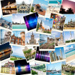 Photos from travels to different countries — Stock Photo