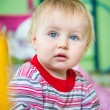 Blue-eyed toddler — Stock Photo
