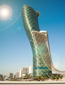 The Capital Gate Tower — Stok fotoğraf