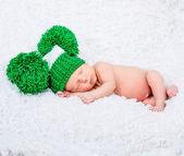 Novorozence baby boy — Stock fotografie