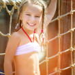 Little girl at aquapark — Stock Photo #41776071