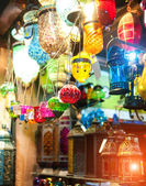 Typical Tuskish Lanterns on sale — Zdjęcie stockowe