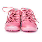 Pink shoes for baby — ストック写真