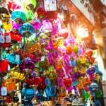 Typical Tuskish Lanterns on sale — Stockfoto