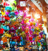 Typical Tuskish Lanterns on sale — Stock Photo