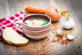Sopa de verduras — Foto de Stock