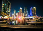 View of the region of Dubai Marina — Stock Photo