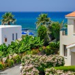 Luxurious holiday beach villas - Stockfoto