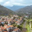 Small italian town in Liguria — Stock Photo