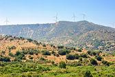 Parc éolien sur chypre — Photo