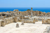 Ruins of ancient town on Cyprus — Stock Photo