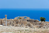 Ruins of an early Christian basilica on Cyprus — Stock Photo
