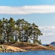 Islands in finland gulf — Stock Photo